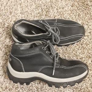 """""""Perry Ellis""""Navy Boys Half Boots"""